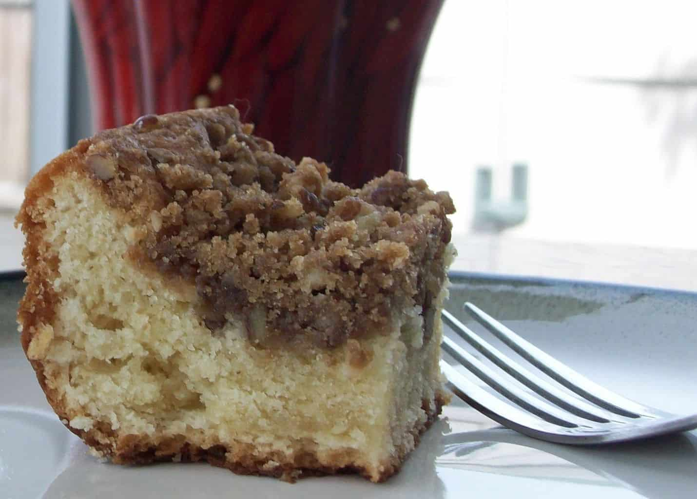 Cream Cheese Coffee Cake - Get the recipe from PassTheSushi.com