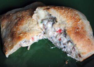 Homemade Sausage Calzones \\ Recipe on PassTheSushi.com