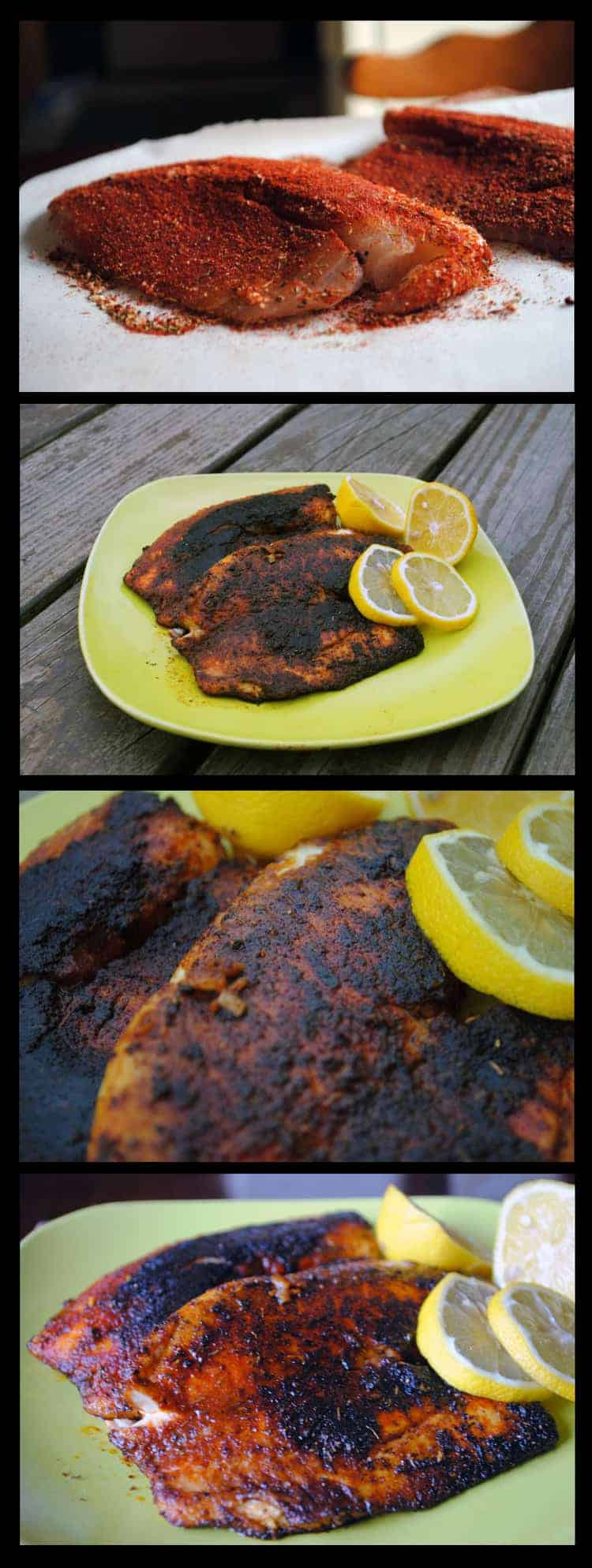 Big Daddy's Blackened Tilapia