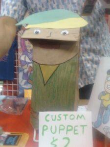 custom handmade puppet