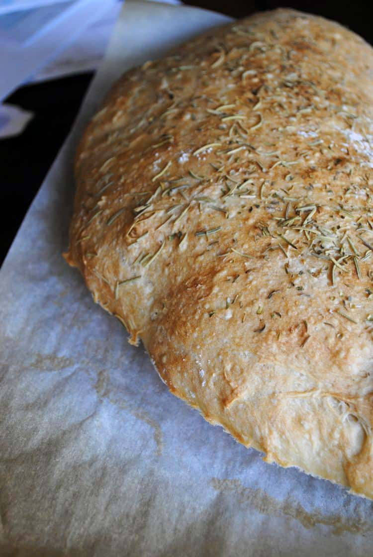Traditional Ciabatta Bread | Get the recipe from passthesushi.com