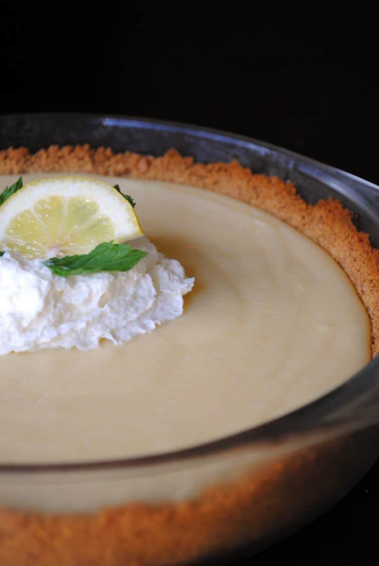 Zesty Easy Lemon Pie Recipe