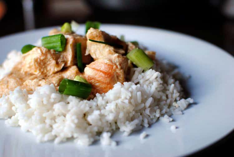 Thai Chicken Curry   Recipe from PassTheSushi.com
