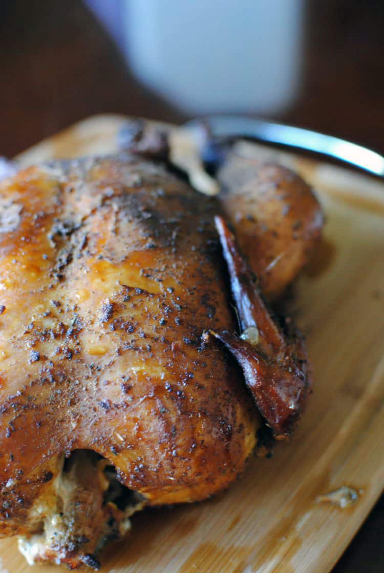 Beginners Smoked Chicken