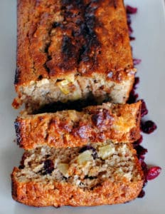 Cranberry-Apple Quick Bread \\ Recipe on PassTheSushi.com