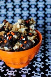 Halloween Popcorn Recipe | Kita Roberts PassTheSushi.com