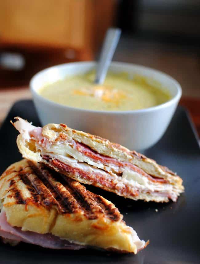 Crispy Italian Panini | Kita Roberts PassTheSushi.com