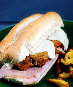 Chicken Cordon Bleu Sandwich Recipe \\ PassTheSushi.com