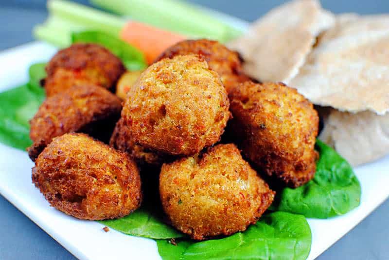 Pan-Fried Falafel Recipe \\ PassTheSushi.com