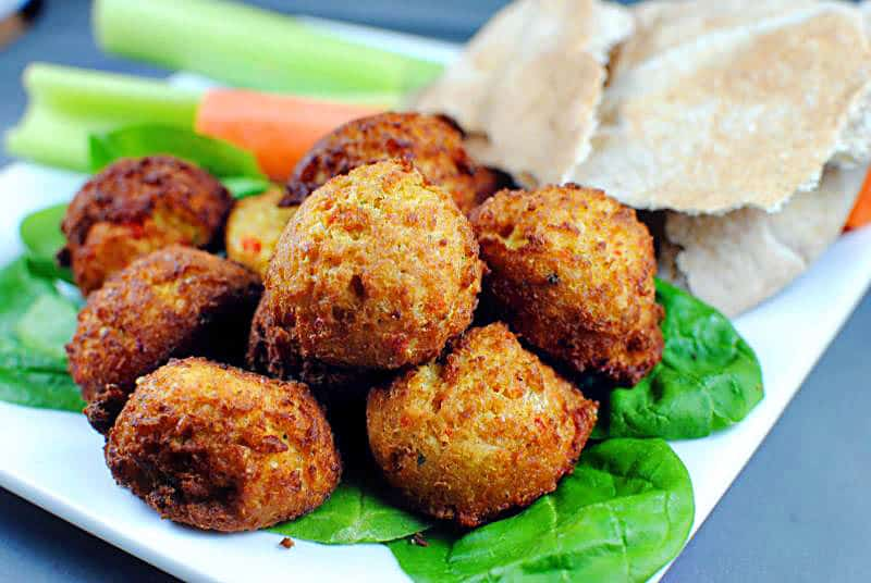 Pan-Fried Falafel Recipe \\ PassTheSushi.com