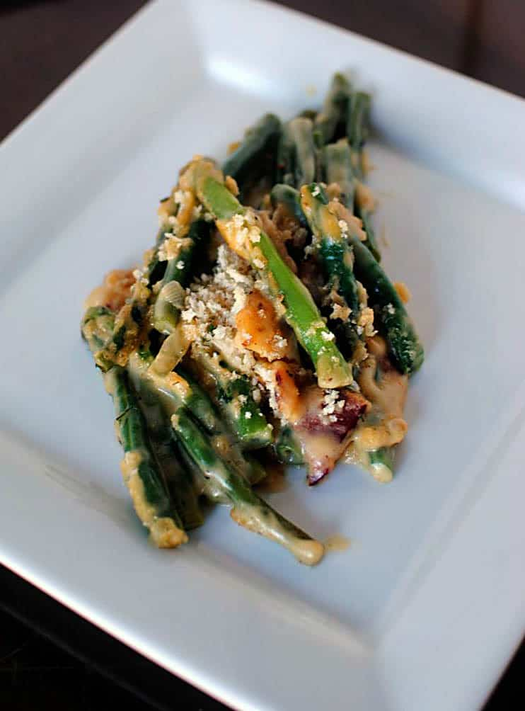 Not Your Same Old Green Bean Casserole
