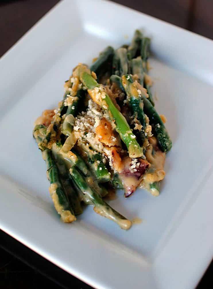 From Scratch Green Bean Casserole Recipe \\ PassTheSushi.com