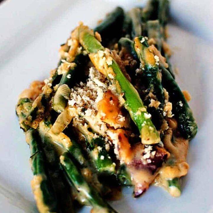 From Scratch Green Bean Casserole Recipe PasstheSushi.com