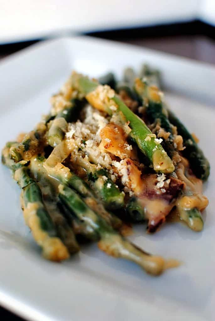 From Scratch Green Bean Casserole Recipe \ PassTheSushi.com