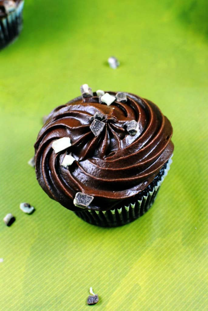 Chocolate Mint Cupcakes Recipe \\ PassTheSushi.com