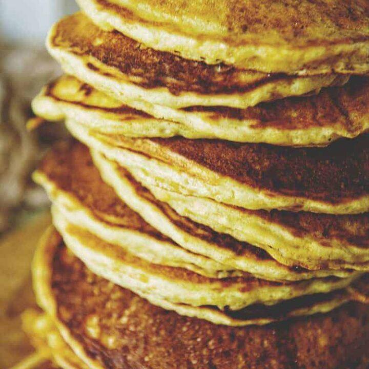 Classic Buttermilk Pancakes | Kita Roberts PassTheSushi.com