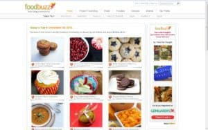 spiced pumpkin cupcakes as seen on Foodbuzz Top 9