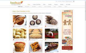 Pumpkin cheesecake brownies on the Foodbuzz Top 9!