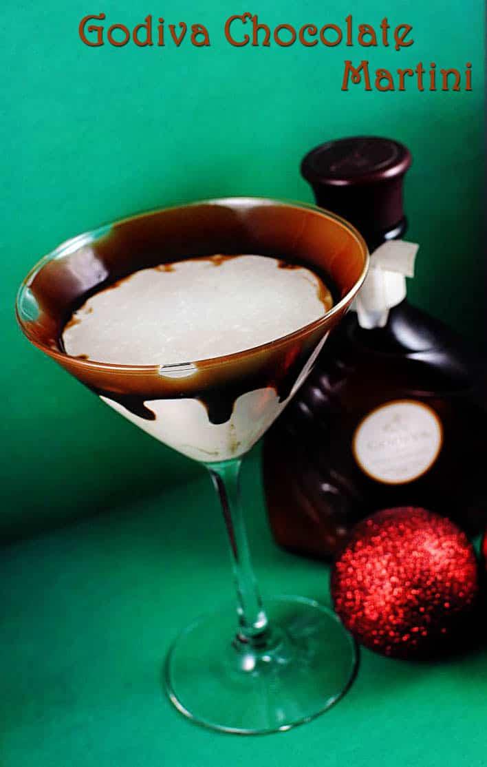 Holiday Martini Recipes: Chocolate and Eggnogg Martinis