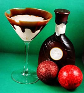 Holiday Martini Recipes - a Godiva Chocolate Martini and an Eggnog Martini Recipe \\ PassTheSushi.com