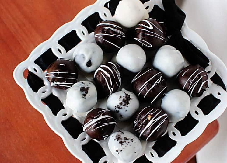 Cookie Dough Truffles and Oreo Truffles Recipe \\ PassTheSushi.com