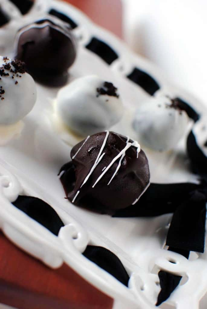 Cookie Dough Truffles and Oreo Truffles Recipe \\ PassTheSushi.com