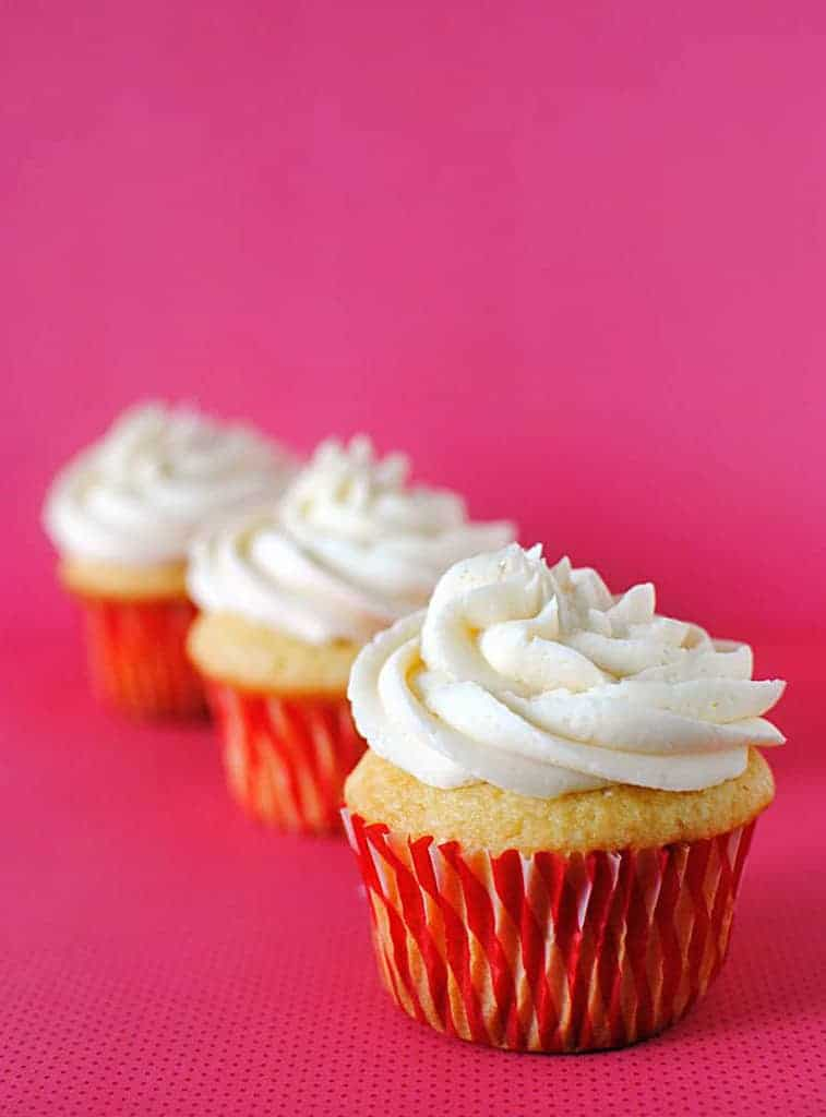 Vanilla Cupcakes From Scratch Recipe On Passthesushi Com