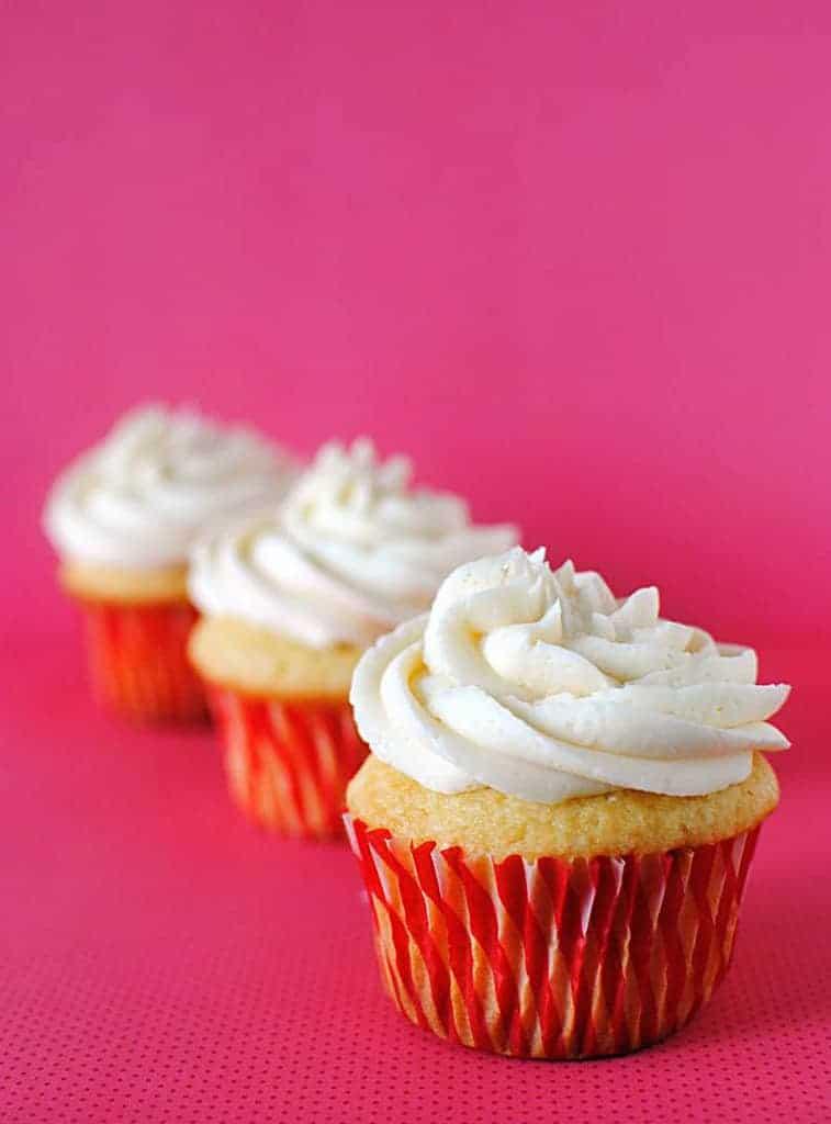 Vanilla Cupcakes and an add on bonus
