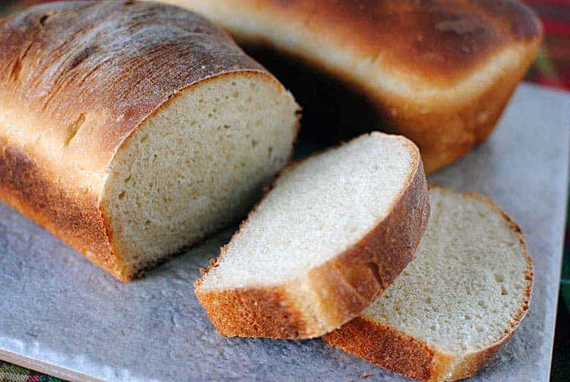 How to make homemade white bread with a KitchenAid stand mixer \\ PassTheSushi.com