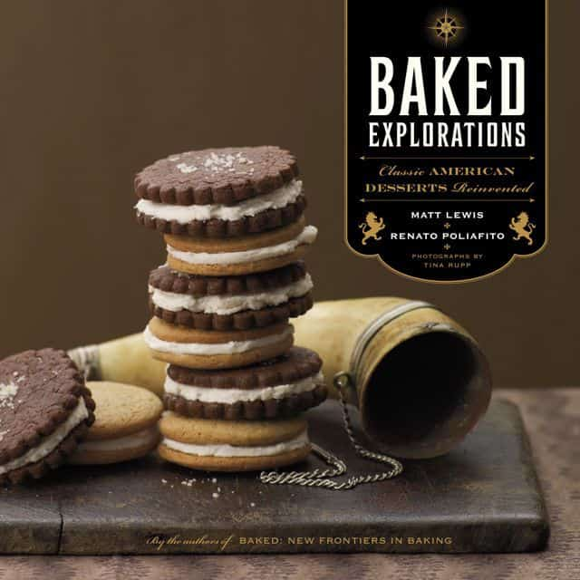 Baked Explorations Cookbook (cover)