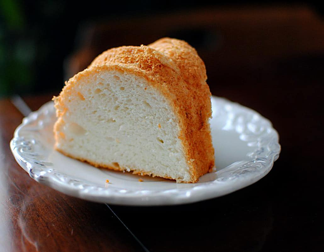 Angel Food Cake Recipe \\ PassTheSushi.com