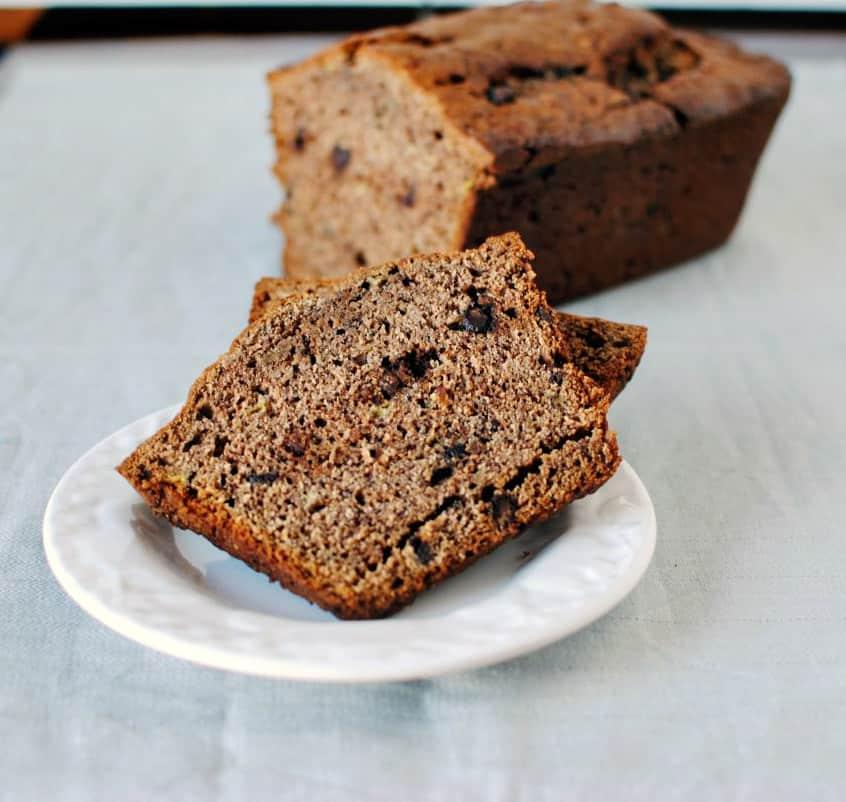 Chocolate Banana Bread Recipe \\ PassTheSushi.com