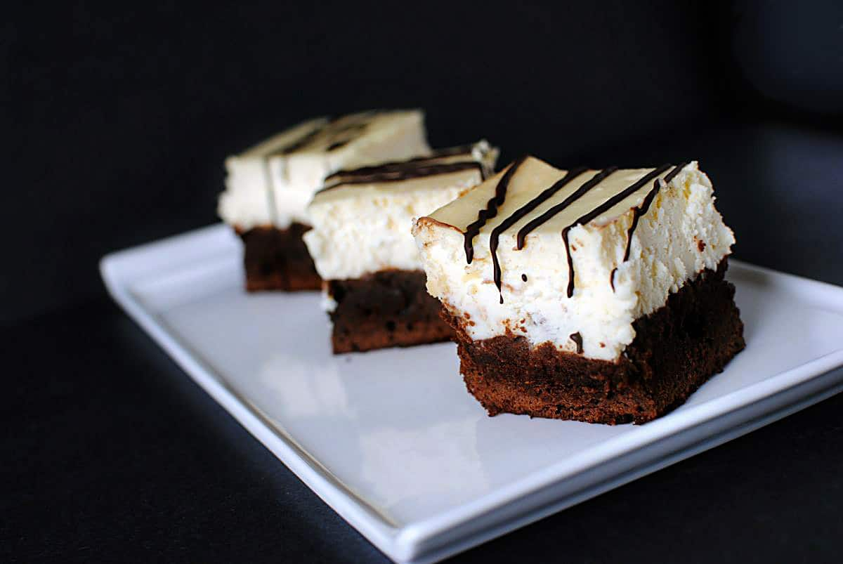 Disney's Brownie Cheesecake \\ PassTheSushi.com