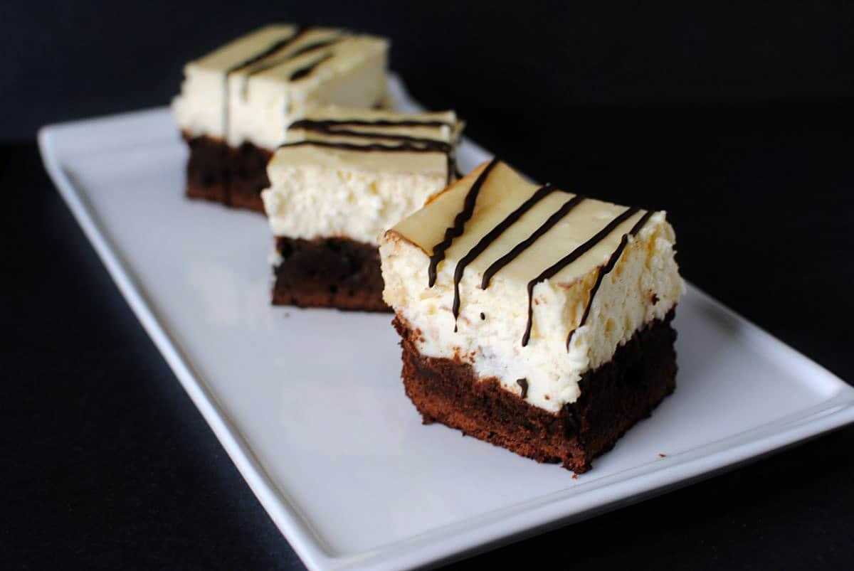 Disney's Brownie Cheesecake  PassTheSushi.com