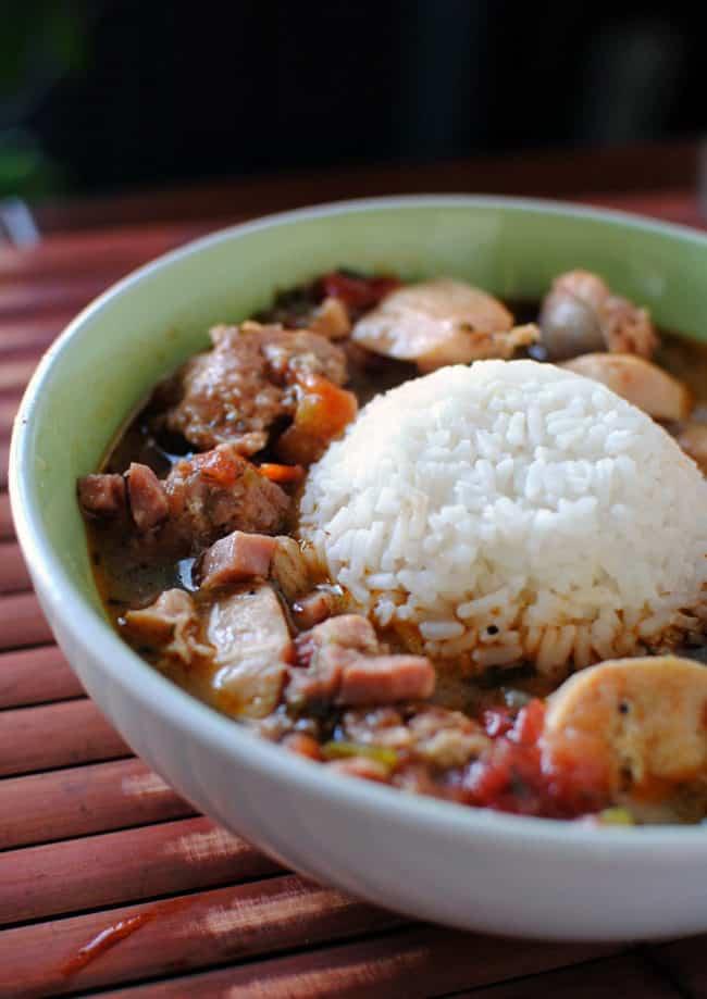Meaty Louisiana Gumbo Recipe \\ PassTheSushi.com