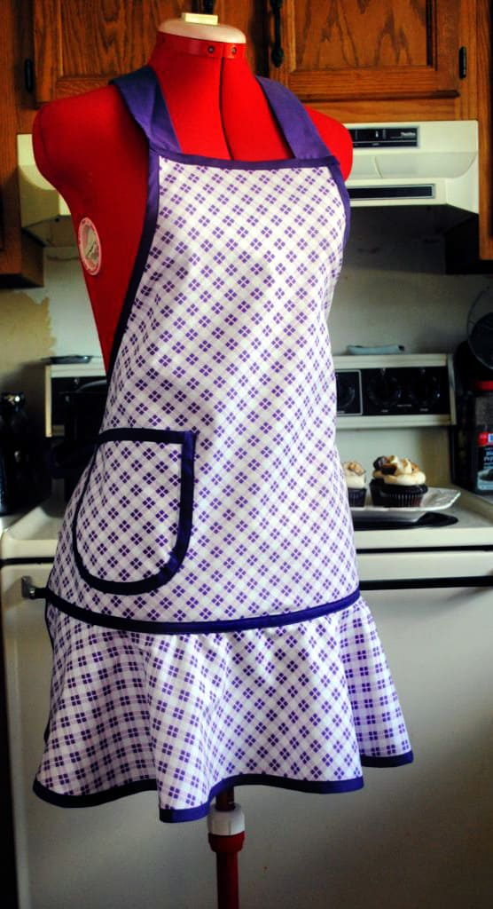Pretty in Plaid Apron