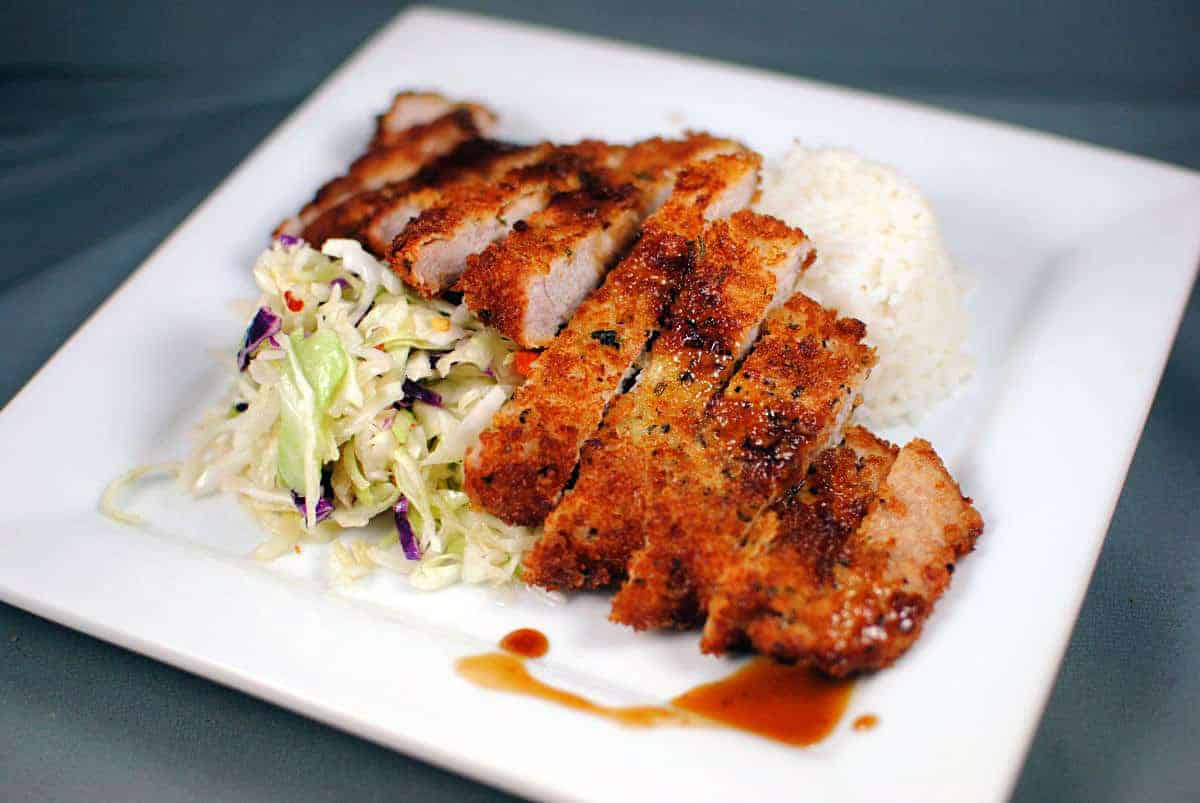 Tonkatsu is a Japanese pork cutlet for those of you who are wondering ...