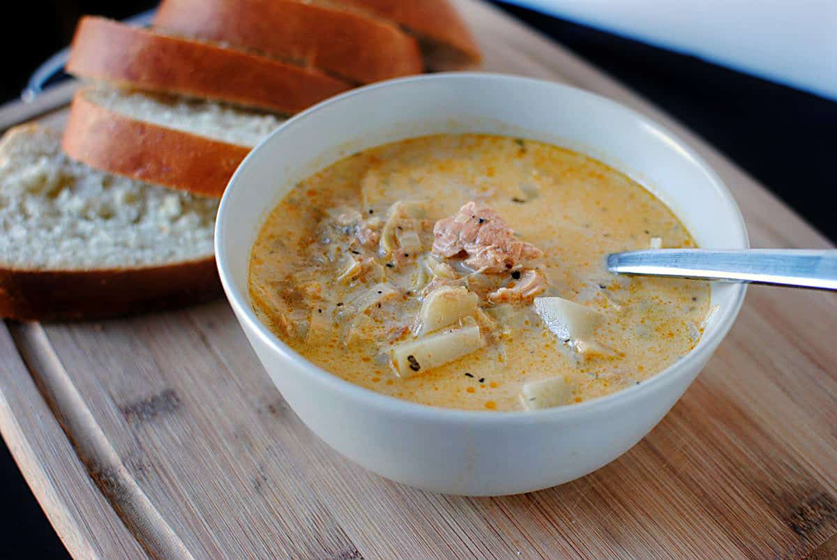 Smoked-Salmon Chowder Recipe