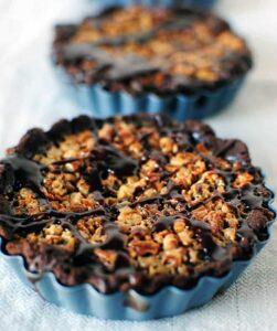 Chocolate Pecan Tart Recipe \\ PassTheSushi.com