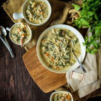 Slow Cooker Chicken Gnocchi Soup