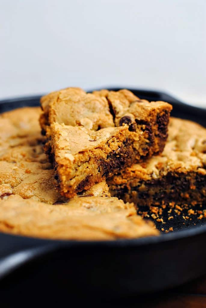 Chocolate Chip Skillet Cookie Recipe \\ PassTheSushi.com
