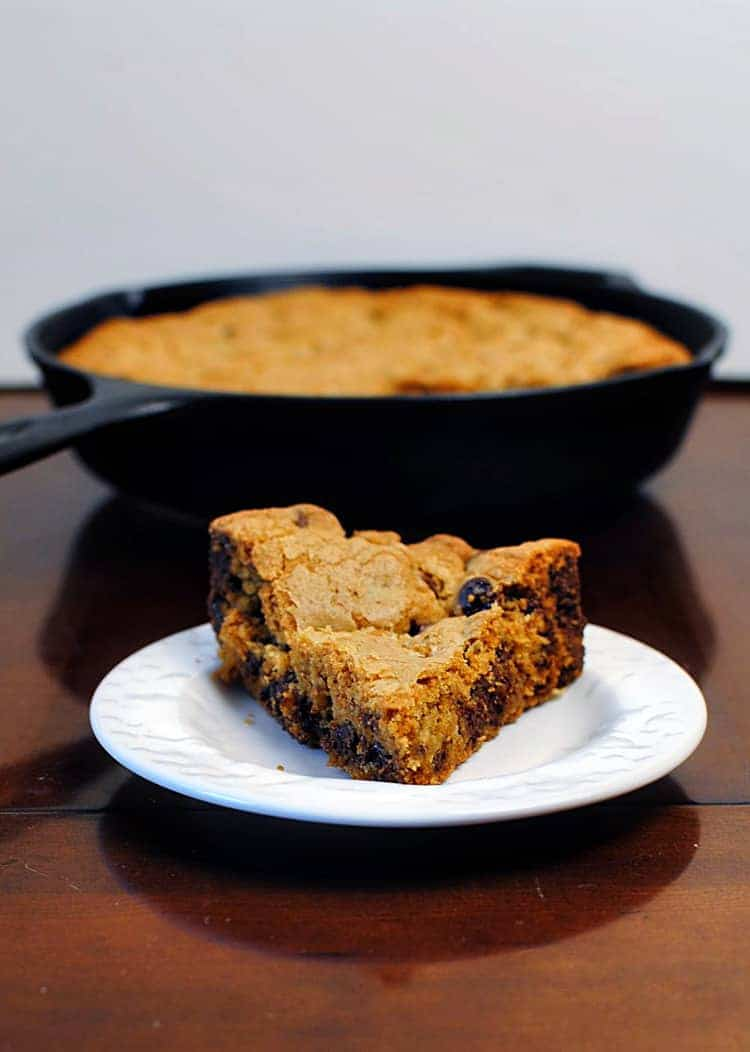 Chocolate Chip Skillet Cookie Recipe \\ PassTheSushi.com