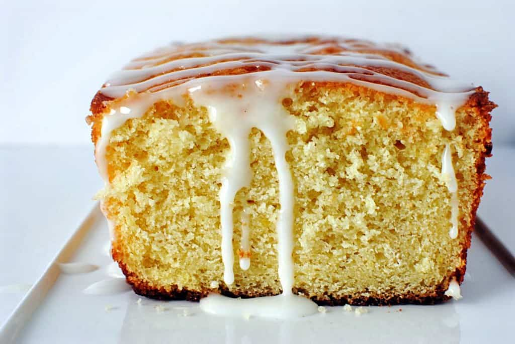 Triple Lemon Cake Loaf Recipe \\ PassTheSushi.com