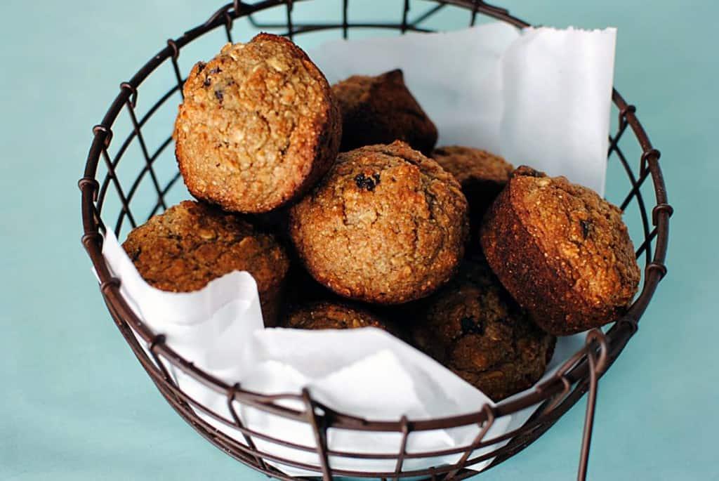 Applesauce Oatmeal Muffins Recipe \\ PassTheSushi.com