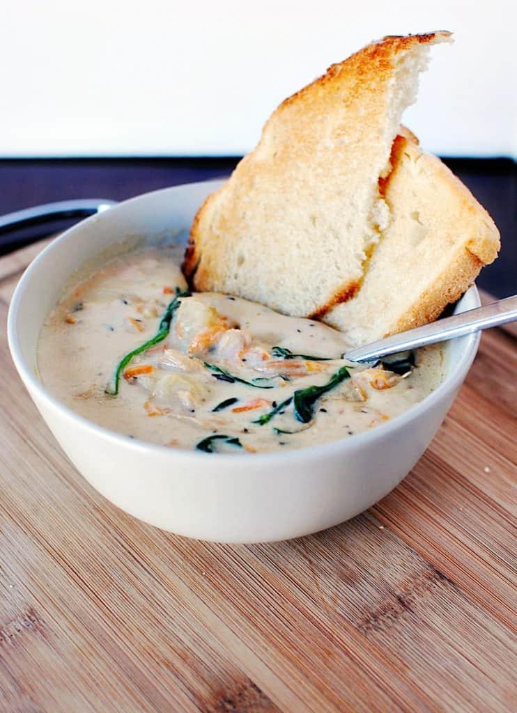 Chicken gnocchi soup recipe \\ PassTheSushi.com