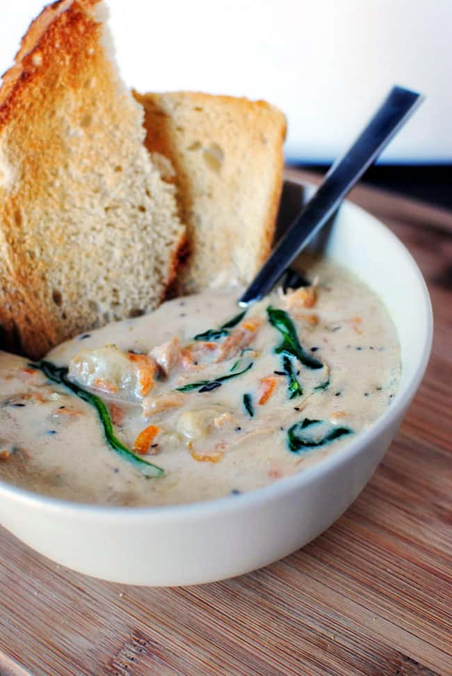 Chicken gnocchi soup quick dinner fixins pass the sushi - Gnocchi soup olive garden recipe ...