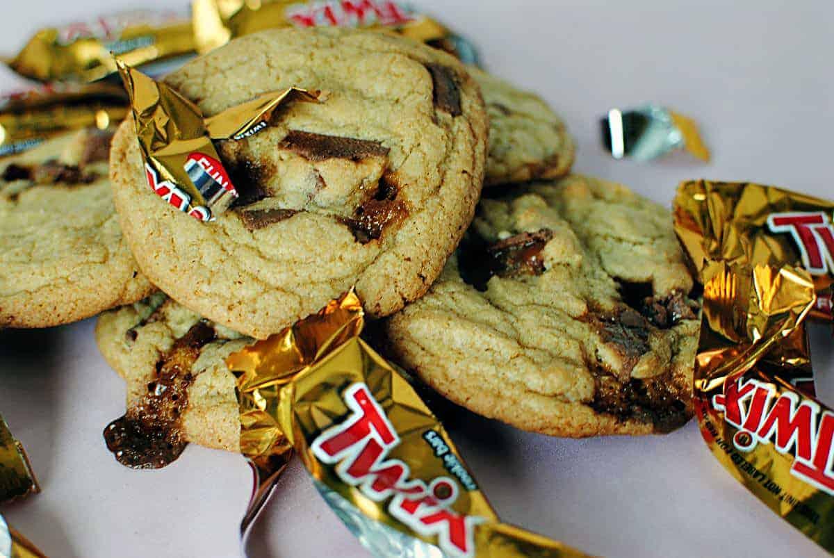 Chunky Twix Cookies Recipe \\ PassTheSushi.com