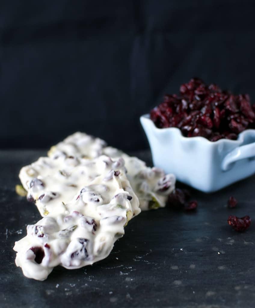 Homemade White Chocolate Bark Recipe \\ PassTheSushi.com