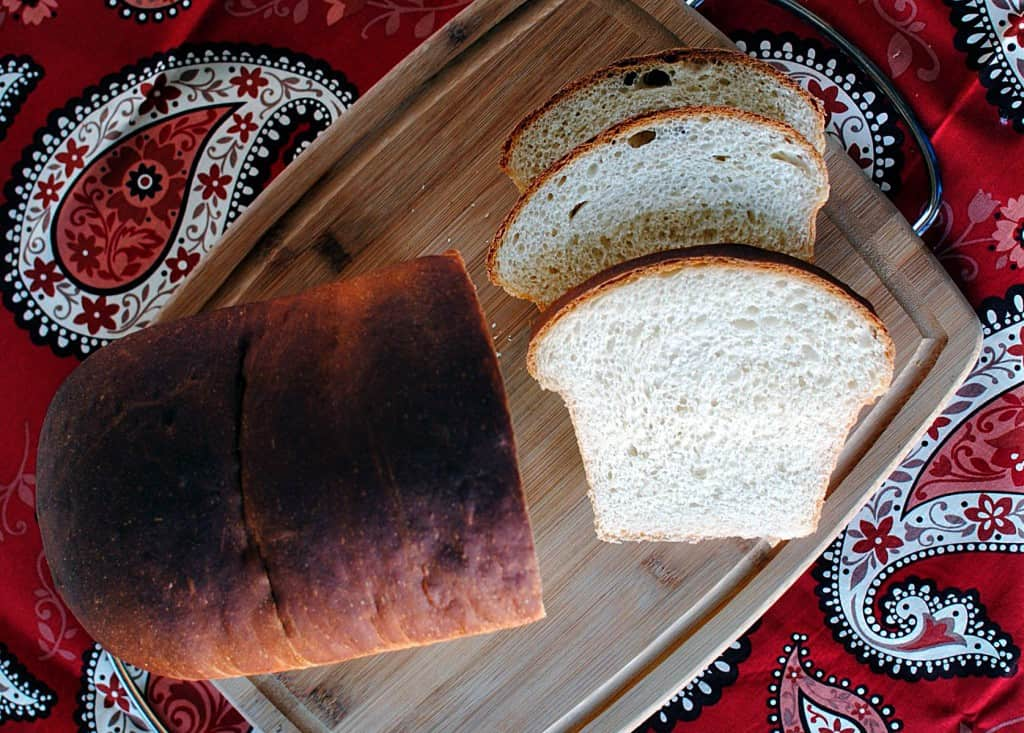 American Sandwich Bread Recipe - because nothing beats a loaf of warm homemade bread! \\ PassTheSushi.com