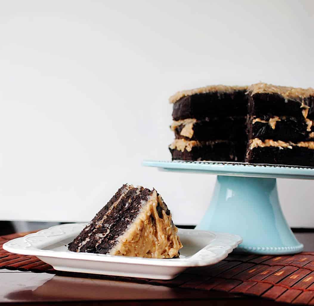 German Chocolate Cake Recipe \\ Pass the Sushi